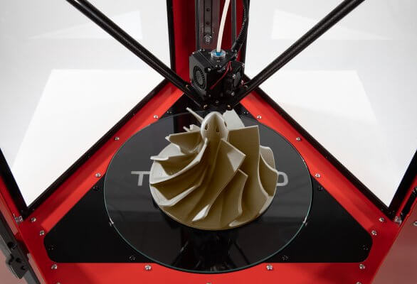 3D-Druckobjekt mit dem TP850 gedruckt