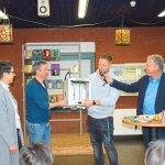 Förderverein übergibt der Schule den 3D-Drucker