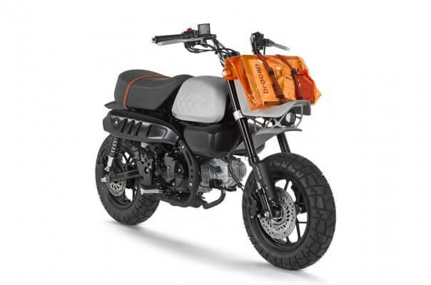 3D-gedrucktes Motorrad Jane