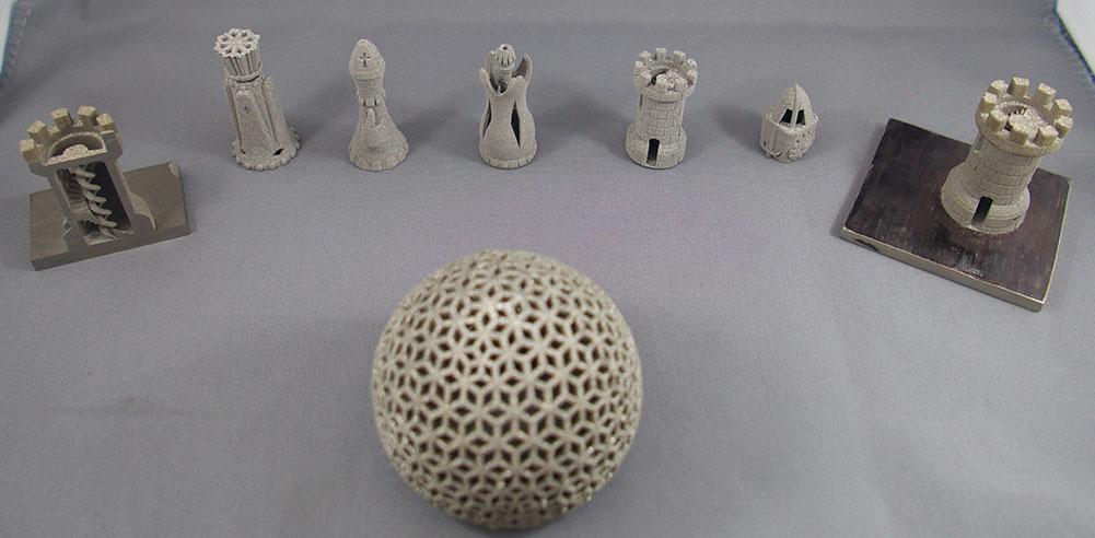 3D-Druckobjekte von Aurora Labs