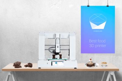Der 3D-Drucker CHOCOLA3D