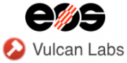 Logo von EOS und Vulcan Labs