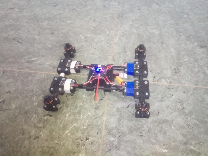 fertige 3D-gedruckte Drohne