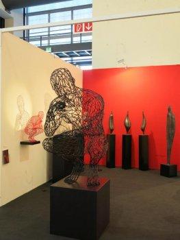 The Thinker im Ausstellungsraum