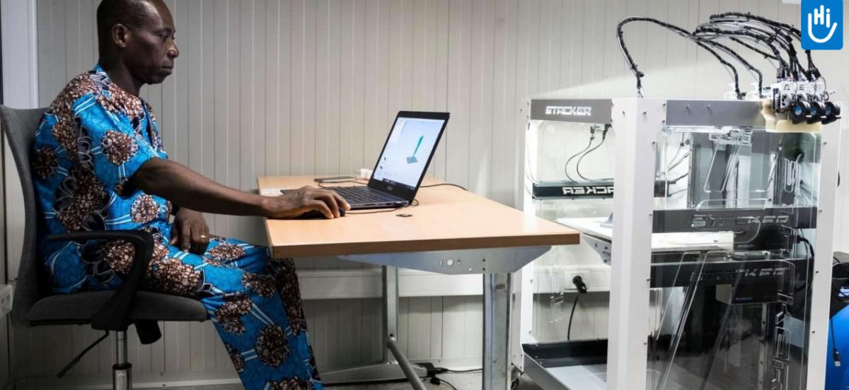 In Togo macht eine Hilfsorganisation mit 3D-Scannern und 3D-Druckern Patienten den Zugang zu Prothesen möglich
