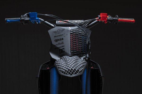 Kawasaki 3D Core Ausschnitt vorne