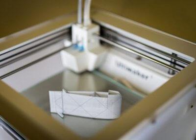 3D-gedrucktes Kunststoffobjekt