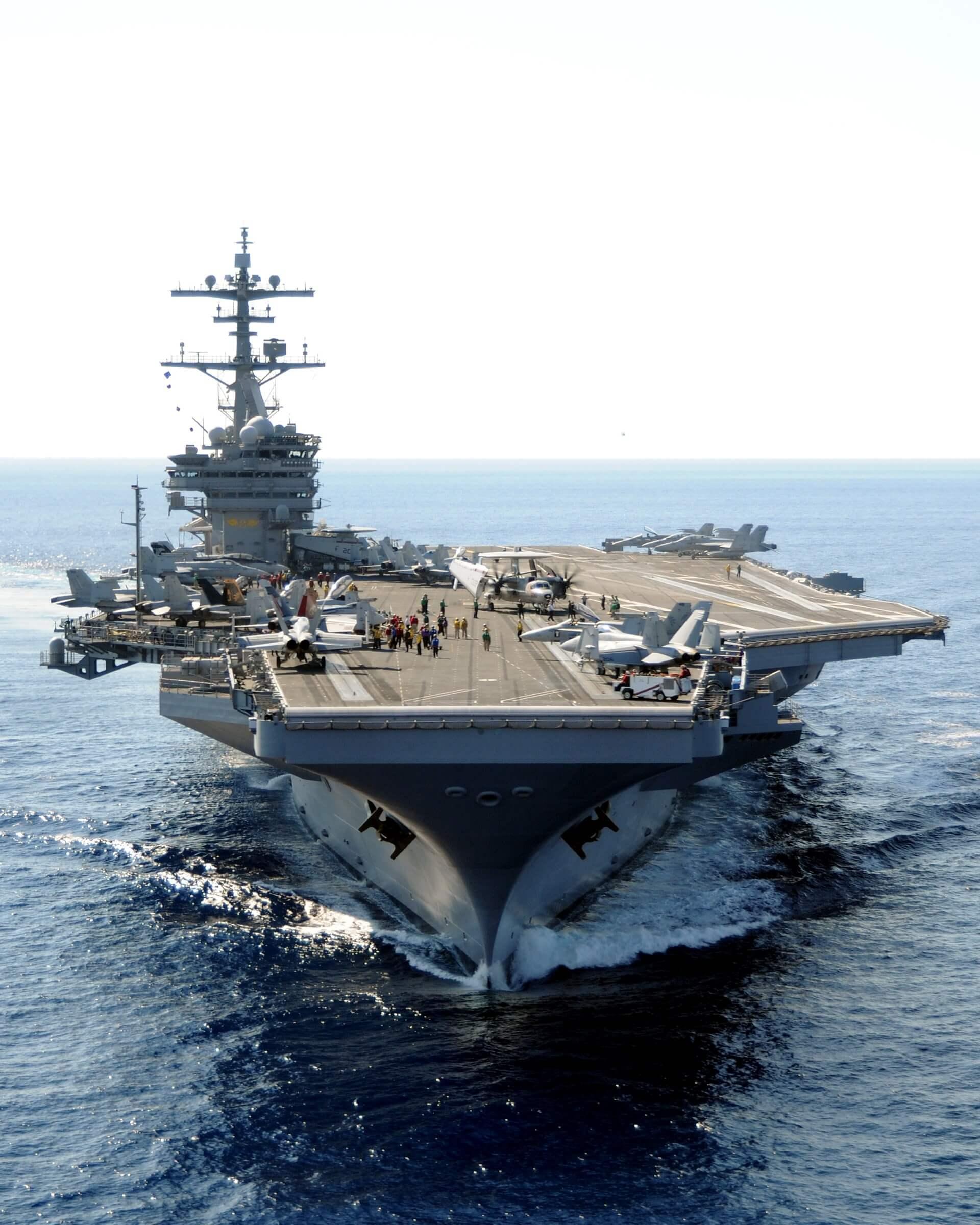 Foto USS George HW Bush