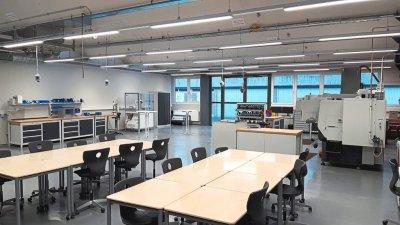 Werkstatt der gewerblichen Schule Horb