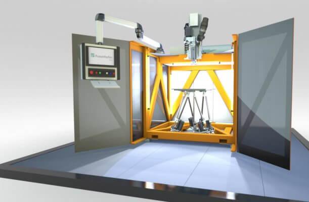 Abbildung des 3D-Druckers