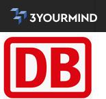 3YOURMIND und DB Logo