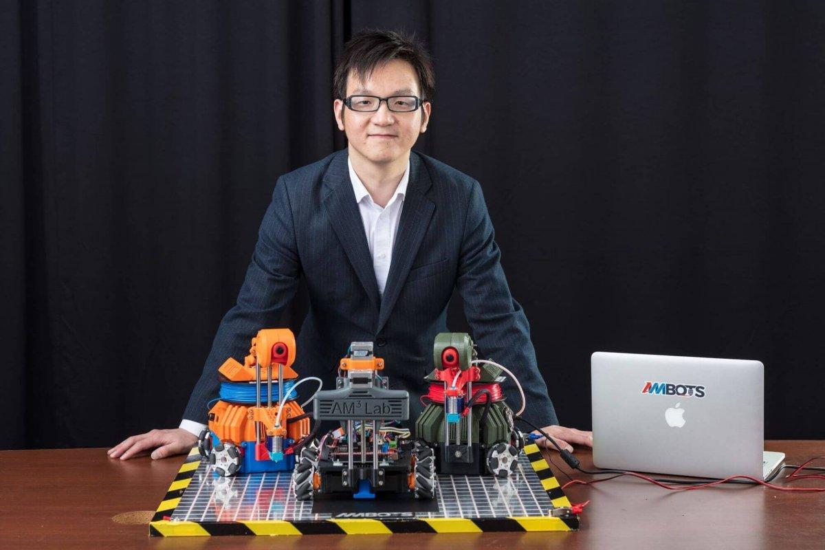 AMBOTS stellt autonome, mobile 3D-Drucker-Roboter für die Digitale Fabrik der Zukunft vor