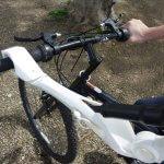 Armprothese für Radfahrer