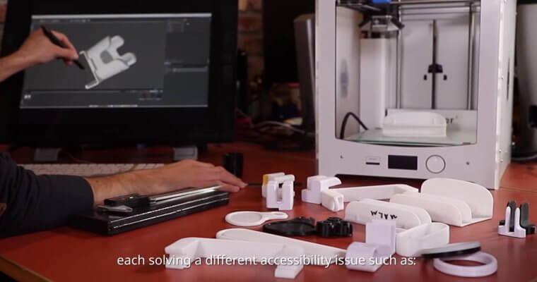 ThisAbles IKEA-Add-Ons aus dem 3D-Drucker