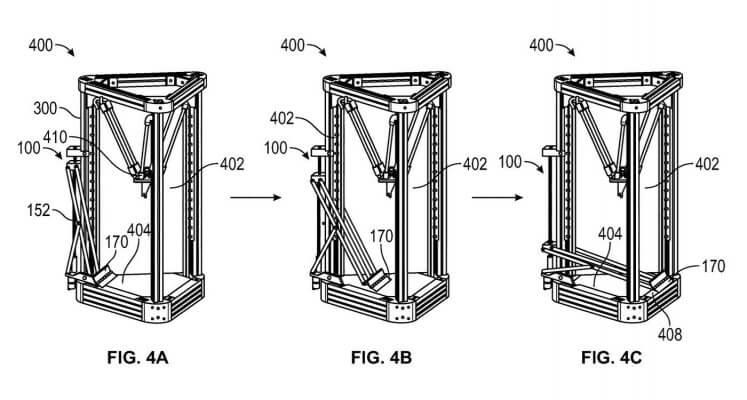 Delta-3D-Drucker mit automatischer Auswurffunktion