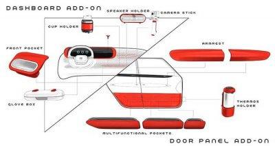 Armaturenbrett Fiat Centoventi