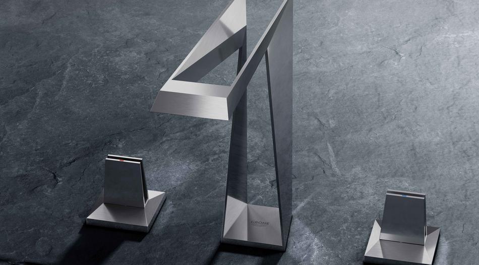 Bild des 3D-gedruckten Wasserhahns