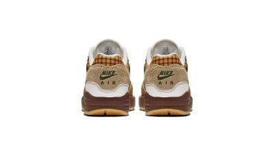 Rückansicht des Schuhs