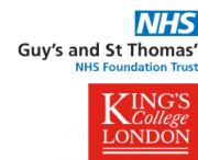 NHS Foundation Trust und King's College London Logo