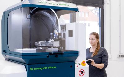 Silikon-3D-Drucker