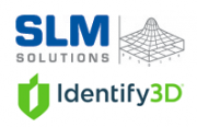 SLM Solutions und Identify3D Logo