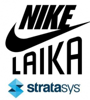 Logo Stratasys, Nike, Laika