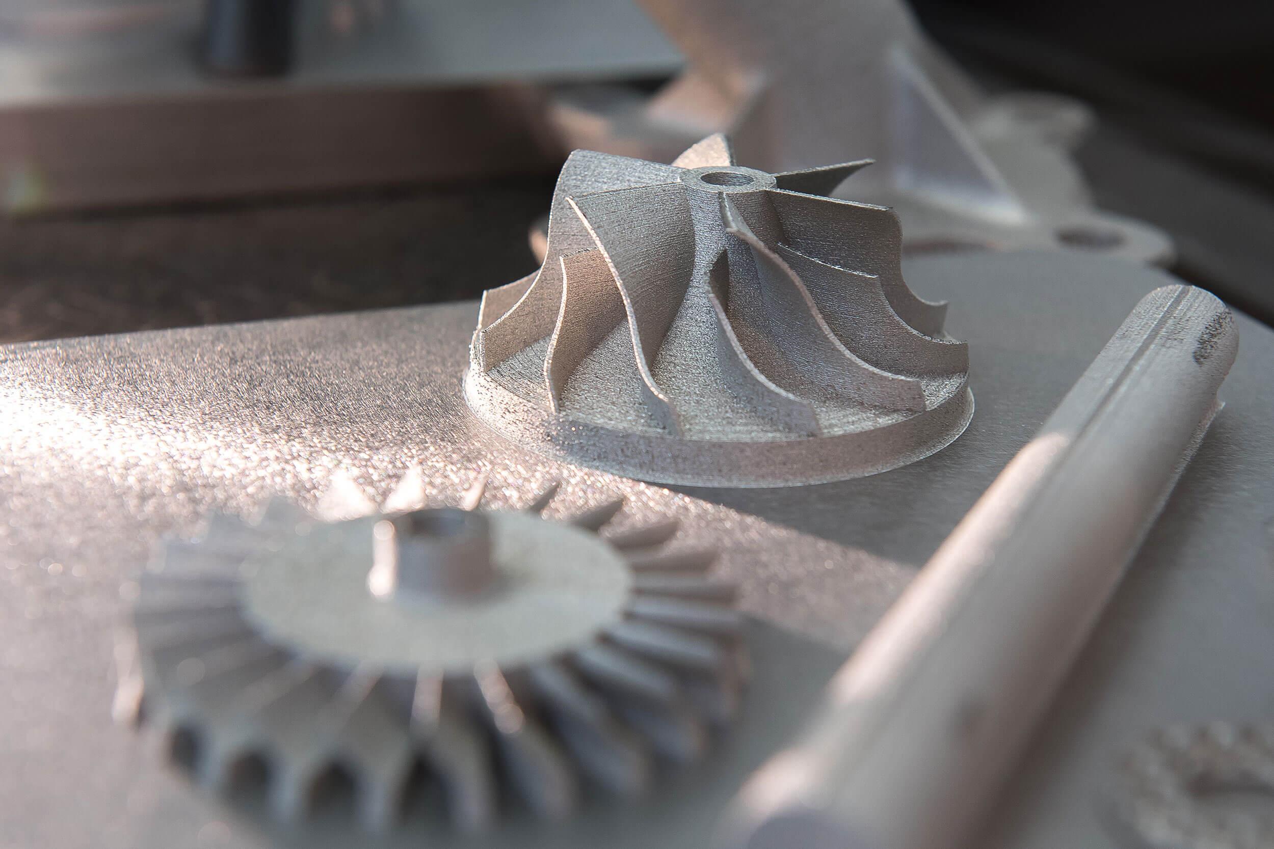 Titanium-Teile aus 3D-Drucker