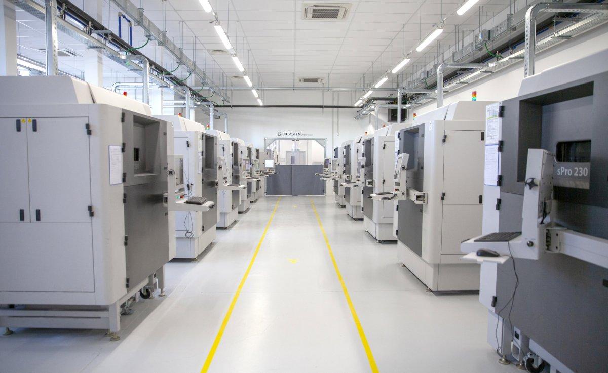 3D Systems eröffnet Zentrum für hochentwickelte additive Fertigungstechnologien in Pinerolo, Italien
