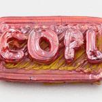 COPL Symbol aus Glas