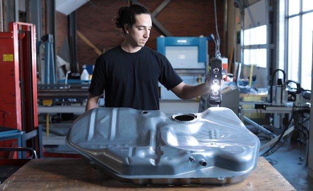 Kanadisches Unternehmen Creaform stellt mit Go!SCAN SPARK™ neuen 3D-Scanner vor