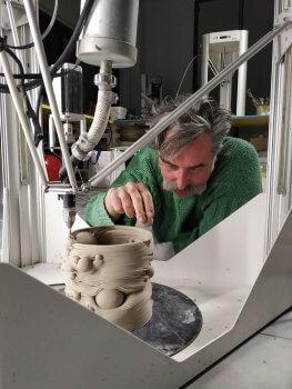 Salvatori und die 3D-gedruckte Vase