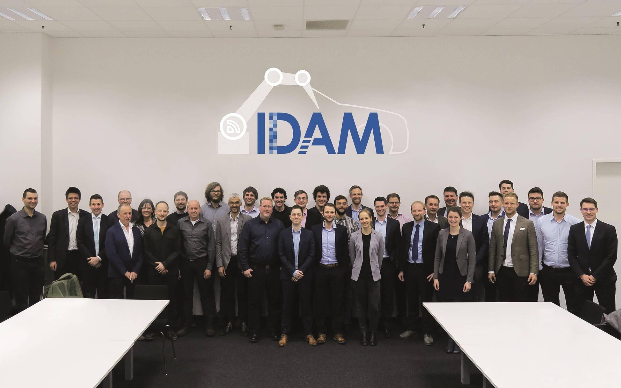Konsortium des BMBF-Projekts IDAM
