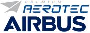 Logo Premium Aerotec und Airbus