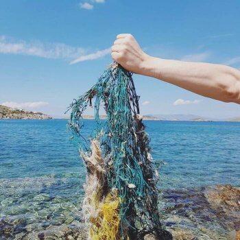 Altes Fischernetz