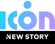 Logo ICON und New Story