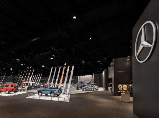 Mercedes-Benz Classic auf der Techno Classica 2019