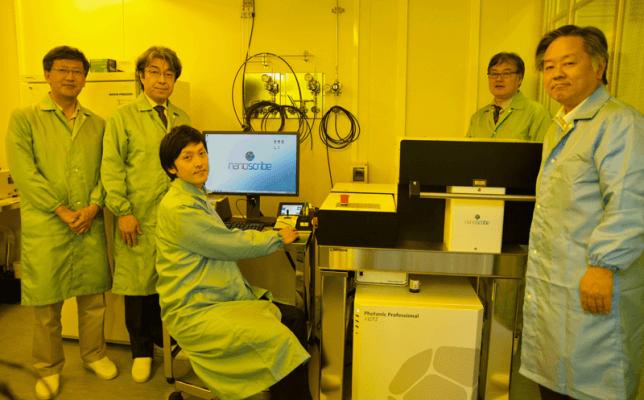 Photonic Professional GT2 von Nanoscribe an KEIO Universität