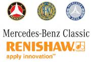 Renishaw und Mercedes-Benz Classic Logo