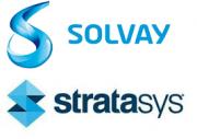 Stratasys und Solvay Logo