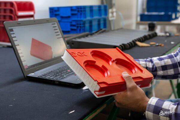 3D-gedruckte Thermoformen