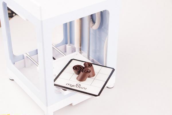 Mit mycusini weltweit erster Schokoladedrucker für Endverbraucher ab 198 Euro auf Kickstarter