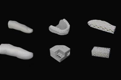 3D-gedruckte Objekte von inkbit