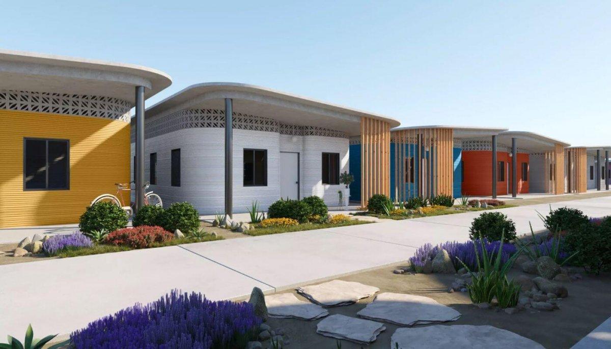 fuseproject, ICON und New Story kooperieren bei der Weiterentwicklung von 3D-gedruckten Häusern
