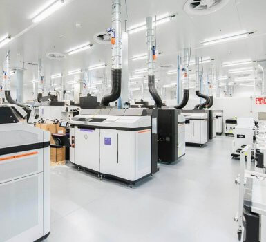 HP 3D-Druck-Center in Barcelona