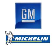 GM und Michelin Logo