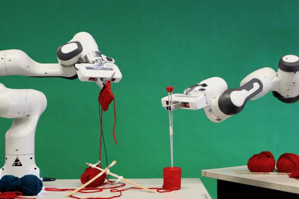 Panda - der strickende Roboter