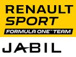 Renault F1 und Jabil Logo