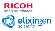 Logo Logo Ricoh und Elixirgen Scientific