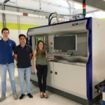 SLM 500 3D-Drucker im Maschinenpark von Beam-IT