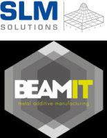 SLM Solutions und Beam-IT Logo